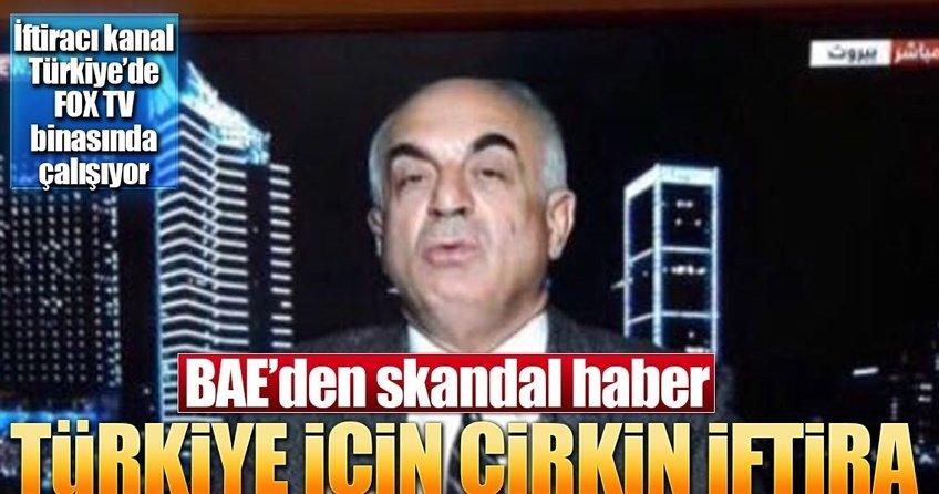 BAE'den Türkiye için çirkin iftira