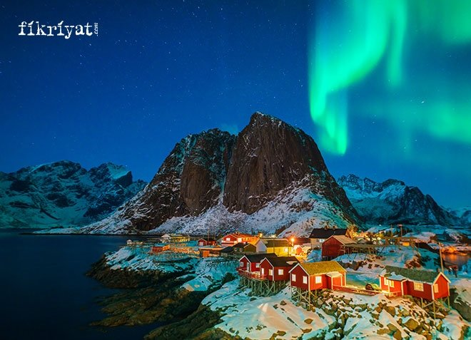 Kuzey Işıkları, İskandinav ülkeleri, İzlanda, İskoçya, Kanada