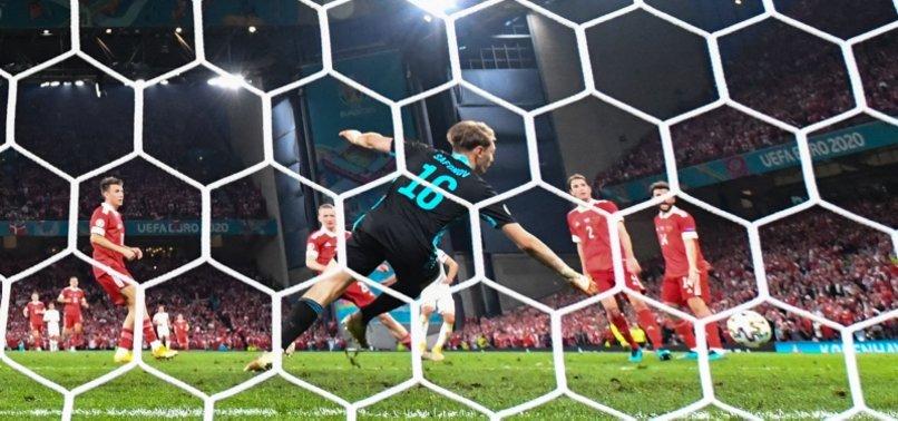 DENMARK DEFEAT RUSSIA 4-1 TO REACH EURO 2020 LAST 16
