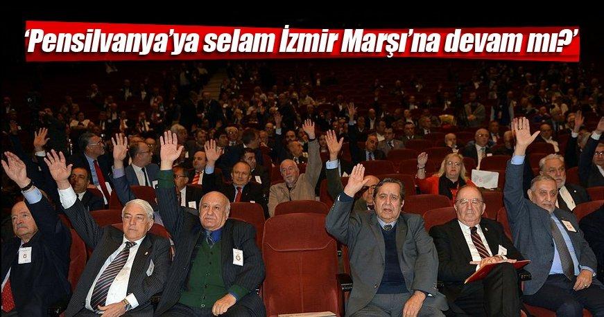 Pensilvanya'ya selam İzmir Marşı'na devam mı?