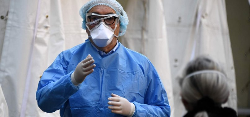 FRANCE REPORTS NEW SPIKE IN CORONAVIRUS DEATHS, BRINGING TOTAL TO ALMOST 2,000