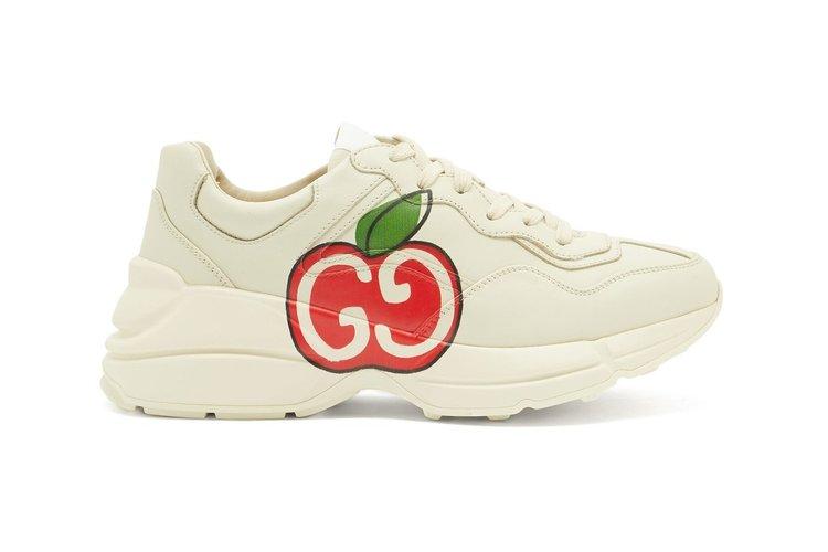 Gucci Apple Print