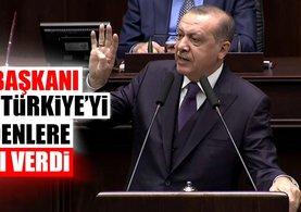 Cumhurbaşkanı Erdoğan'dan Türkiye'yi tehdit edenlere sert mesaj