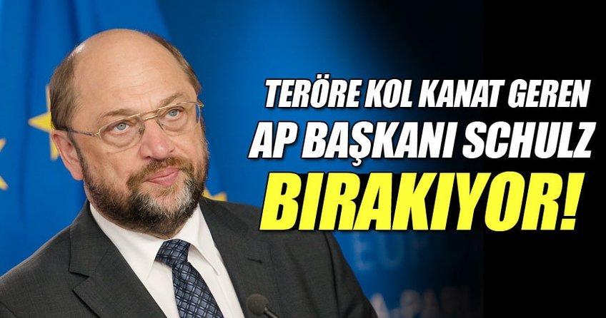 Martin Schulz AP Başkanlığı görevini bırakıyor