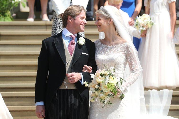 Lady Gabriela Windsor ve Thomas Kingston evlendi