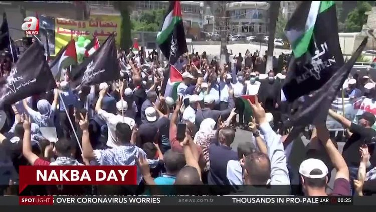 Palestinians mark 73rd anniversary of Nakba amid Israeli attacks