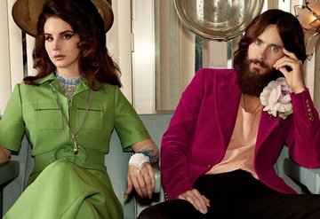 Gucciden Jared Leto ve Lana Del Reyli reklam