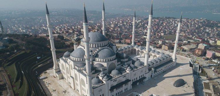 Çamlıca Camisi'nin açılmasına sayılı günler kaldı!