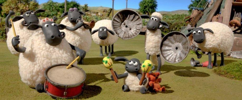 Koyun Shaunun Eğlence Dolu Çiftliği