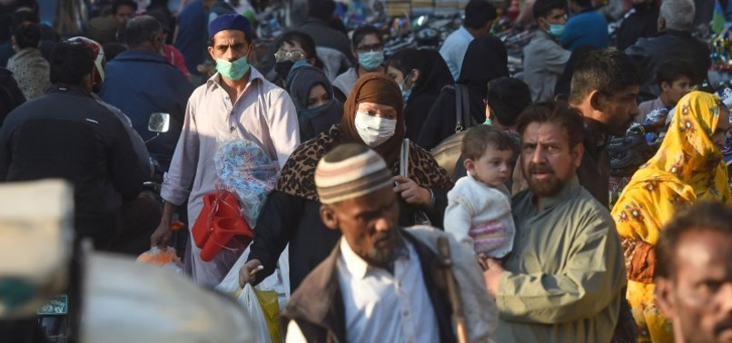 PAKISTAN REPORTS OVER 3,000 CASES FOR 3RD STRAIGHT DAY