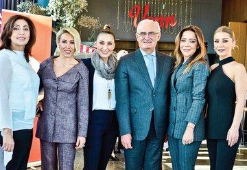 Samsun'da  yılbaşı şenliği