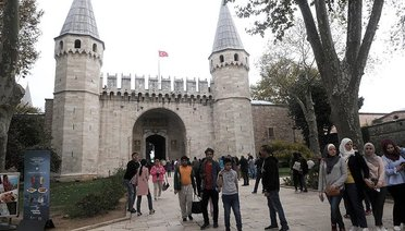 Ziyaretçi rekoru Topkapı Sarayında