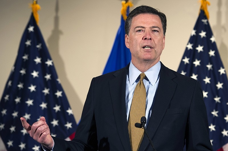 FBI Director James Comey makes a statement at FBI Headquarters in Washington, Tuesday, July 5, 2016. Comey said 110 emails sent or received on Hillary Clinton's server contained classified information. (AP Photo)