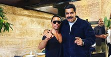 President Maduro enjoys meal at Salt Bae's steakhouse