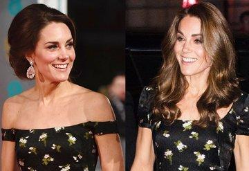 Kate Middletondan aynı elbiseye farklı yorum