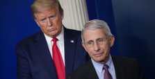Fauci warns US is 'knee-deep' in first wave of coronavirus