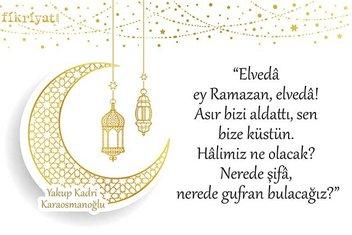 Yakup Kadri yüz yıl önce yazdı: Elveda ey Ramazan