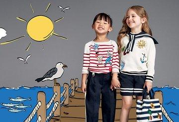 Çocuk modası, 2017 ilkbahar/yaz