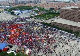 DİSK Taksim'de 1 Mayıs kutlamalarından vazgeçti