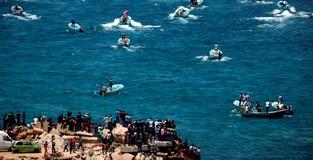 Palestinians set sail to protest 12-year blockade