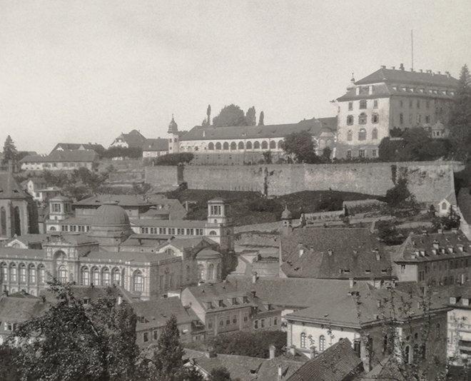 Yeni Saray, Baden