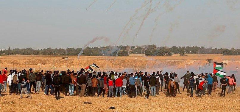 ISRAEL ARRESTS 3 PALESTINIANS NEAR GAZA FENCE