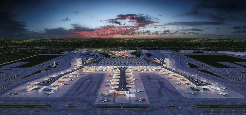 NEW ISTANBUL AIRPORT TO BE AMONG LARGEST IN WORLD