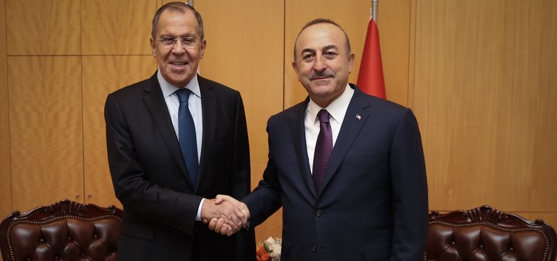 TURKISH, RUSSIAN FOREIGN MINISTERS MEET BEFORE ISTANBUL SUMMIT