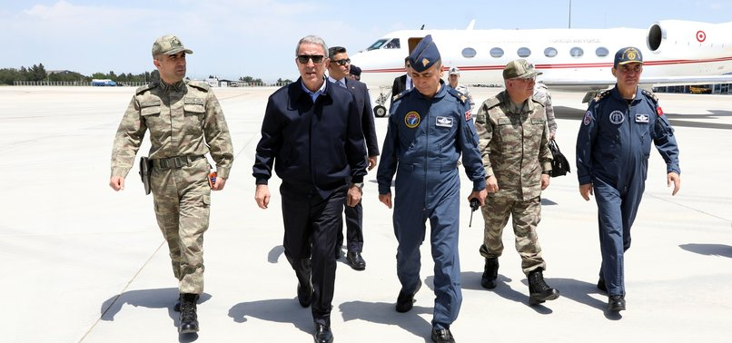 TURKEY WORKS TO FULFILL COMMITMENTS ON S-400, F-35, DEFENSE MINISTER AKAR SAYS
