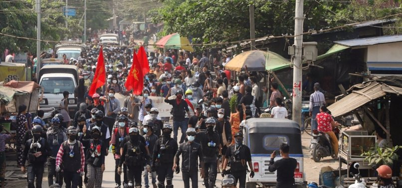 6 cops dead as protesters attack police post in Myanmar - anews