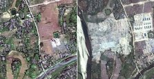Myanmar using bulldozers to erase Rohingya Muslim villages