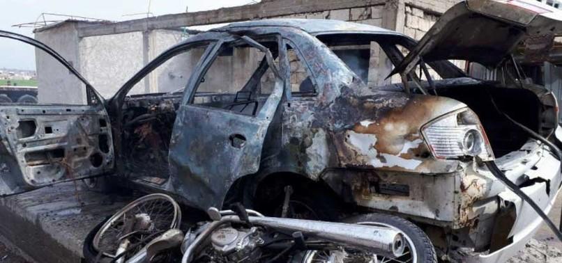 SUSPECTED YPG BOMB ATTACK KILLS 6 IN SYRIAS JARABLUS