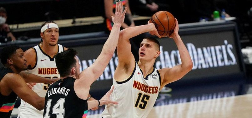 NIKOLA JOKIC, NUGGETS BEAT SPURS FOR 7TH WIN IN ROW