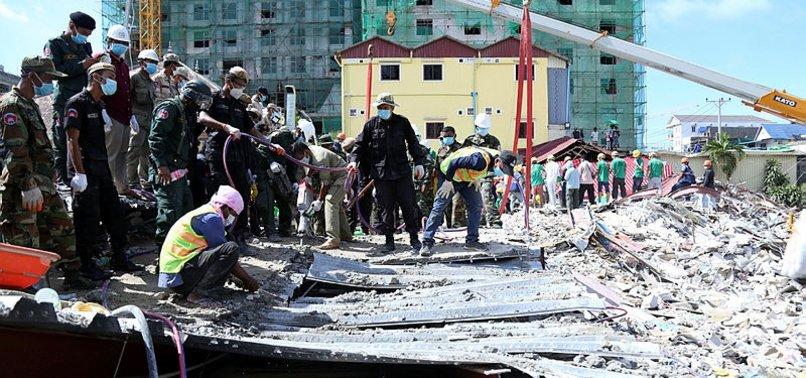 CAMBODIA BUILDING COLLAPSE KILLS 28