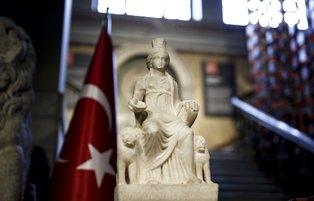Ancient statue of Cybele returns Turkey