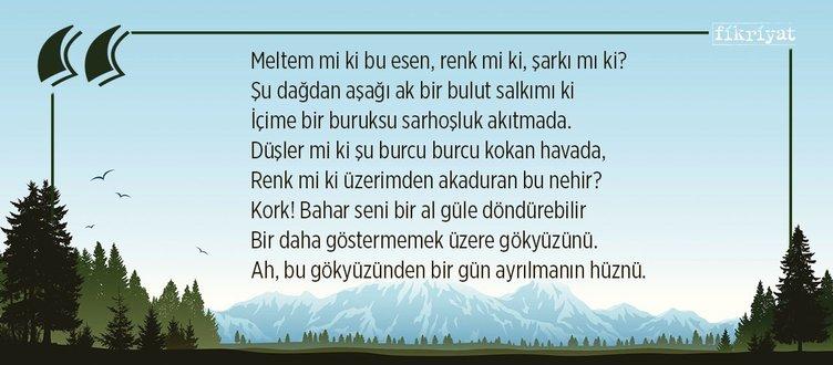 Bahar Gökleri, Ahmet Muhip Dıranas