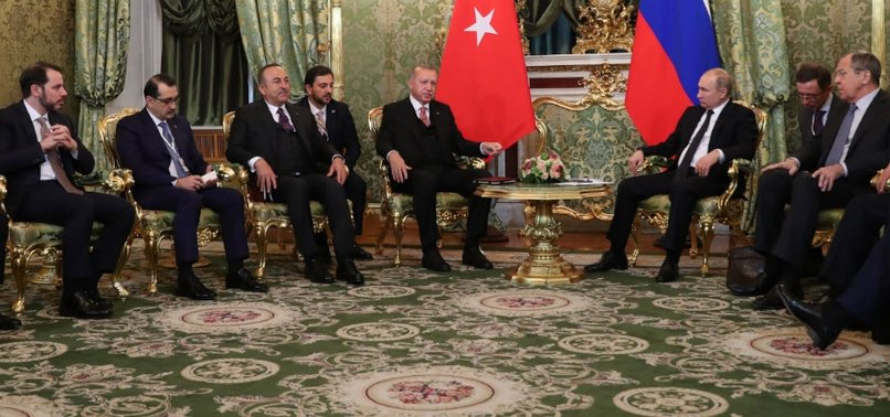 ERDOĞAN: TURKEY, RUSSIA TAKING SIGNIFICANT STEPS IN SYRIA
