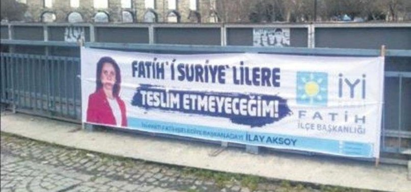 FAR-RIGHT İPS ANTI-REFUGEE ELECTION BANNER DRAWS CRITICISM