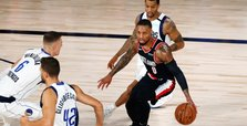 Lillard ties career-high 61 as Trail Blazers outlast Mavericks
