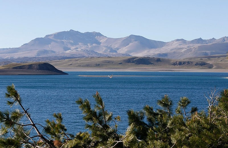 The Laguna del Maule (Lagoon of Maule) is seen in the VII region of Talca, south of Santiago, Chile November 29, 2016. (Reuters Photo)