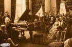Nargile dumanı altında piyano çalan Liszt