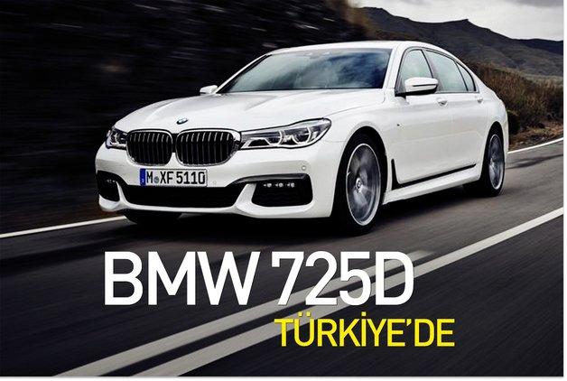 BMW 725D Türkiye'de