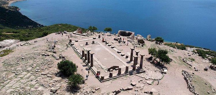 1800'den bu yana kazılan kent: Assos