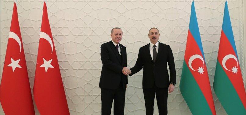 KARABAKH AS MUCH OUR ISSUE AS AZERBAIJANS, PRESIDENT ERDOĞAN SAYS