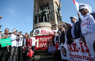 Turkish labour unions mark International Workers' Day