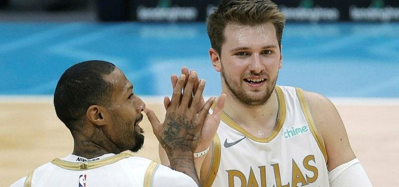 LUKA DONCIC PROPELS MAVS TO WIN OVER HORNETS