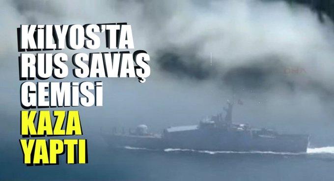 Karadenizde gemi kazası!