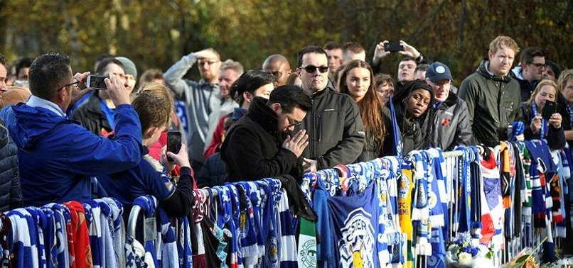 LEICESTER FANS MARCH IN HONOUR OF LATE THAI OWNER
