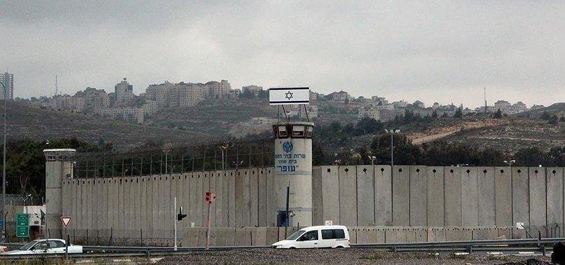 HUNDREDS OF PALESTINIAN PRISONERS HELD IN ISRAELI JAILS GO ON HUNGER STRIKE