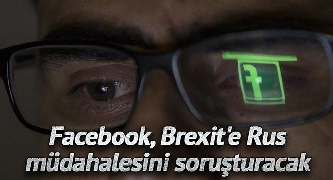 Facebook, Brexite Rus müdahalesini soruşturacak